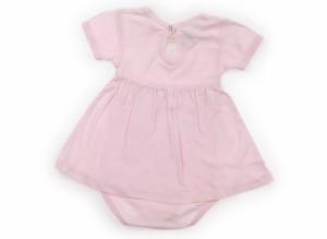 【プチバトー/PETIT BATEAU】ロンパース 70サイズ 女の子【USED子供服・ベビー服】(106480)