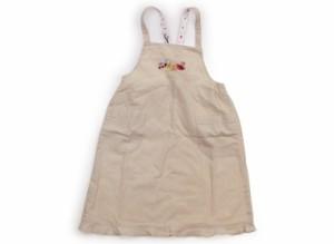 【ファミリア/familiar】ジャンパースカート 110サイズ 女の子【USED子供服・ベビー服】(106757)