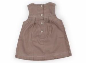 【ファミリア/familiar】ジャンパースカート 70サイズ 女の子【USED子供服・ベビー服】(106878)