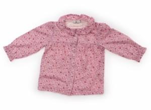 【組曲/Kumikyoku】Tシャツ・カットソー 70サイズ 女の子【USED子供服・ベビー服】(106888)