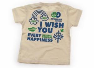 【サンカンシオン/3can4on】Tシャツ・カットソー 90サイズ 女の子【USED子供服・ベビー服】(106909)