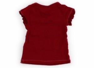 【ハッシュアッシュ/HusHush】Tシャツ・カットソー 90サイズ 女の子【USED子供服・ベビー服】(107075)