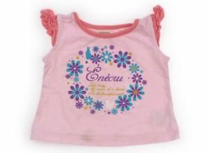 【フーセンウサギ/Fusen Usagi】Tシャツ・カットソー 80サイズ 女の子【USED子供服・ベビー服】(107082)