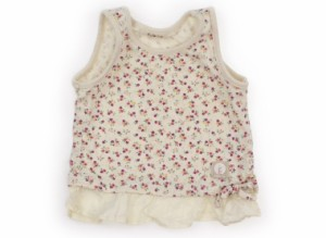 【フーセンウサギ/Fusen Usagi】タンクトップ・キャミソール 80サイズ 女の子【USED子供服・ベビー服】(107085)