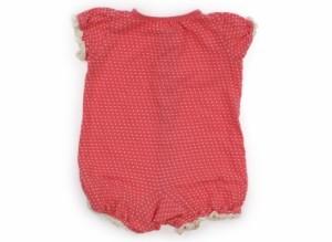 【ブランシェス/BRANSHES】カバーオール 80サイズ 女の子【USED子供服・ベビー服】(107097)