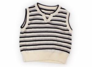 【コムサデモード/COMME CA DU MODE】ベスト 80サイズ 男の子【USED子供服・ベビー服】(121614)
