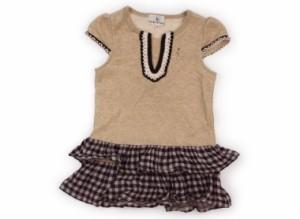 【組曲/Kumikyoku】ワンピース 110サイズ 女の子【USED子供服・ベビー服】(121621)