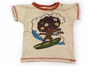【エーアーベー/e.a.B】Tシャツ・カットソー 95サイズ 女の子【USED子供服・ベビー服】(121628)