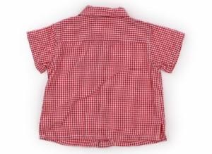 【ムージョンジョン/Moujonjon】シャツ・ブラウス 80サイズ 男の子【USED子供服・ベビー服】(121632)
