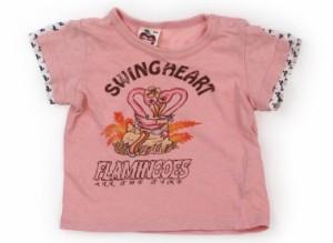 【丸高衣料/Marutaka】Tシャツ・カットソー 80サイズ 女の子【USED子供服・ベビー服】(121702)