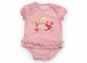 【エニィファム/anyFAM】ロンパース 80サイズ 女の子【USED子供服・ベビー服】(134438)