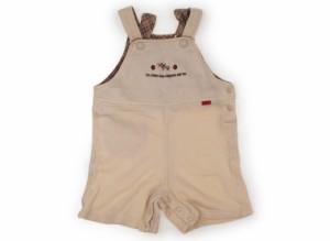 【エル/ELLE】ベビーオーバーオール 80サイズ 女の子【USED子供服・ベビー服】(156575)