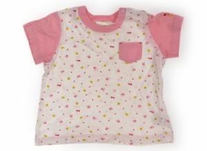 【ミキハウス/miki HOUSE】Tシャツ・カットソー 90サイズ 女の子【USED子供服・ベビー服】(162998)