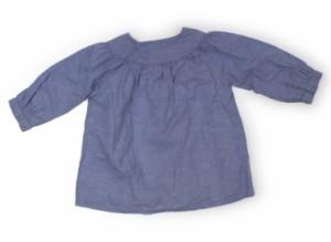 【シップス/SHIPS】チュニック 80サイズ 女の子【USED子供服・ベビー服】(165517)