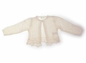 【コンビミニ/Combimini】カーディガン 80サイズ 女の子【USED子供服・ベビー服】(174147)