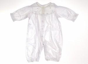 【ファミリア/familiar】カバーオール 50サイズ 女の子【USED子供服・ベビー服】(202569)