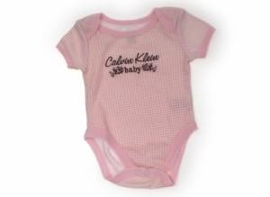 dae247ce04600  カルバンクライン Calvin Klein ロンパース 50サイズ 女の子 USED子供服・