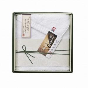 今治タオル 矢野紋織謹製白たおる フェイスタオル YN1519