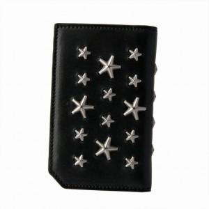 ジミー チュウ ジミーチュウ BLACK/GUNMETAL メンズ カードケース COOPER/S BLS 163
