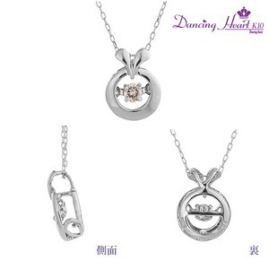 クロスフォーDancing Heart(ダンシングハート) DH-018 〔Ring〕 ダイヤモンドペンダント/ネックレス