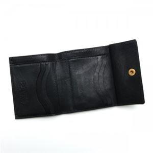 IL BISONTE(イル ビゾンテ) Wホック財布 C0910 153 NERO