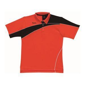 PARADISO(パラディーゾ) ゲームシャツ 52CM4A オレンジ×ブラック LL