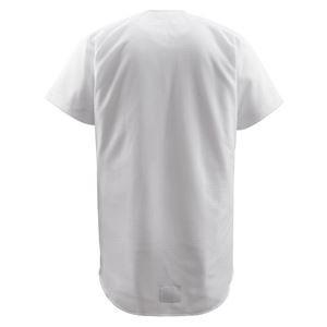 デサント(DESCENTE) フルオープンシャツ (野球) DB1010 Sホワイト L
