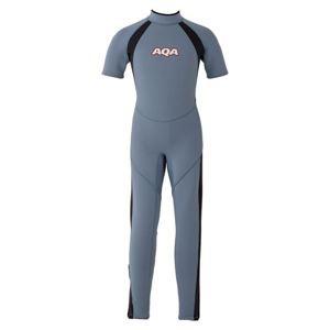 AQA(アクア) キッズスーツ シーガルII KW4505A スモークブルー×マットブラック130
