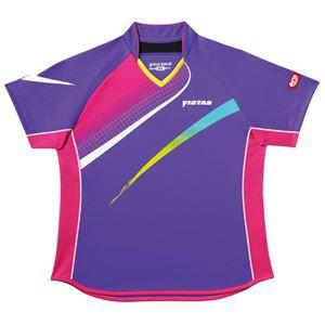 ヤマト卓球 VICTAS(ヴィクタス) 卓球アパレル V-LS029 Viscotecs ゲームシャツ(女子用) 03145