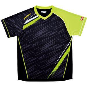 ヤマト卓球 VICTAS(ヴィクタス) 卓球アパレル V-SW036 ゲームシャツ(男女兼用) 031459 ライム Lサイ