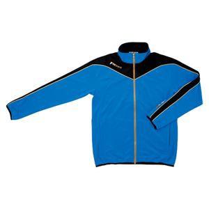 ヤマト卓球 VICTAS(ヴィクタス) トレーニングジャケット V-JJ012 033135 ブルー×ブラック Sサイズ