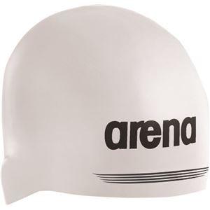 デサント ARENA(アリーナ) シリコンキャップ AQUAFORCE 3D SHIELD ARN7400 ホワイト L(5