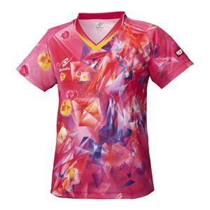 ニッタク(Nittaku) 卓球アパレル SKYCRYSTAL SHIRT(スカイクリスタルシャツ) ゲームシャツ(女子用)