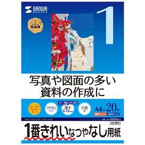(まとめ)サンワサプライ インクジェット用スーパーファイン用紙A4サイズ20枚入り JP-EM5NA4【×10セット】