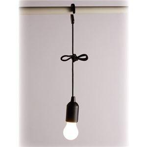 (まとめ)旭電機化成 ひっぱり点灯ライト 白色LED 8102401【×3セット】