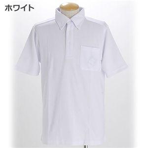 COOLBIZ ドライメッシュBDシャツ ホワイト Sサイズ