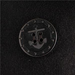 USタイプ海軍 ピーコート JC043YN ブラック 40( L) 〔 レプリカ 〕