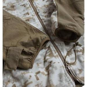 アメリカ軍 海兵隊放出 PO LARTEC フリースジャケット 〔 Mサイズ 〕 デザート 〔未使用デッドストック〕