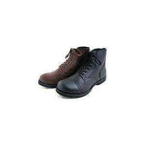 アメリカ軍 WW2 インファクトリーブーツ/靴 【 8W/27cm 】 セミロング 合成皮革(合皮) ブラウン 【 レプリカ 】