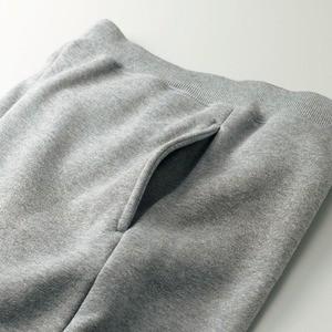 肌触りにこだわった「裏起毛」スウェットパンツ CB5624 ブラック Lサイズ