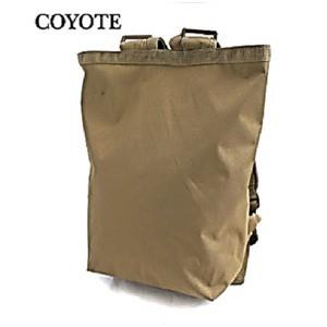 水に強い防水加工 布使用リュックサックなるトートバッグ BR066YN コヨーテ