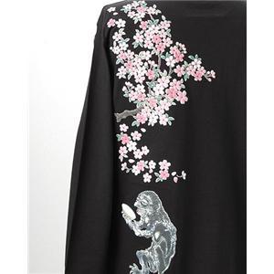 語れる立体和柄ロンT 驚愕の10柄! S-1857/桜酒  M