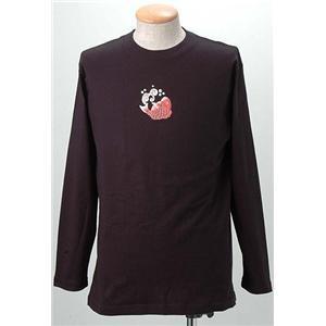 語れる立体和柄ロングTシャツ S-1542/鶴亀鯛 LL(NP)