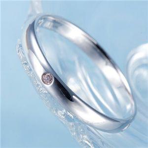 ピンクダイヤリング 指輪 サザンクロスリング 9号