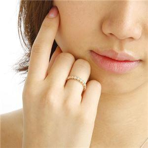K18PG ダイヤリング 指輪 1.0ct フルエタニティリング 13号