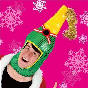 〔クリスマスコスプレ 衣装〕シャンパンヘッド