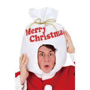 【クリスマスコスプレ 衣装】サンタ袋ヘッド