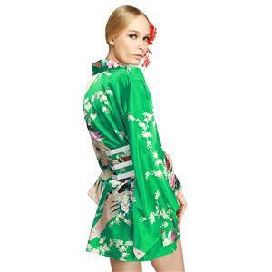 〔コスプレ・着物ドレス〕Hana Blossom Emerald Green XL