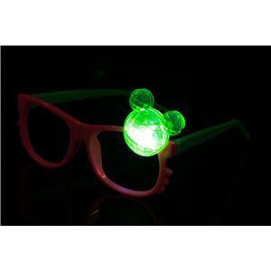 ELEX(エレクトリック イーエックス)光る チャームサングラス くま 色指定不可