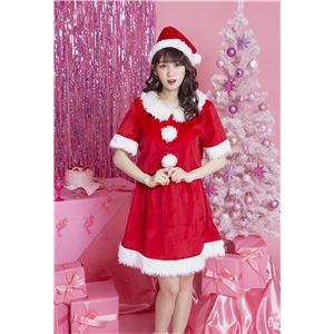 〔クリスマスコスプレ 衣装〕 コンフォートサンタ
